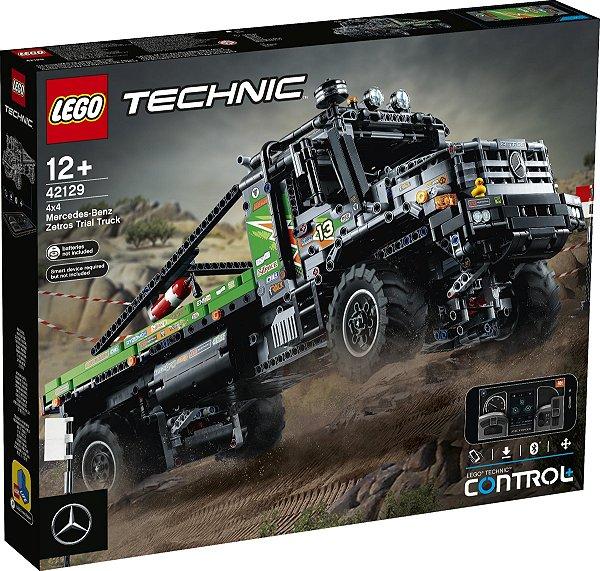 LEGO TECHNIC 42129 CAMINHÃO DE TESTE 4X4 MERCEDES-BENZ ZETROS