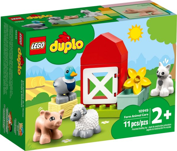 LEGO DUPLO 10949 CUIDANDO DOS ANIMAIS DA FAZENDA