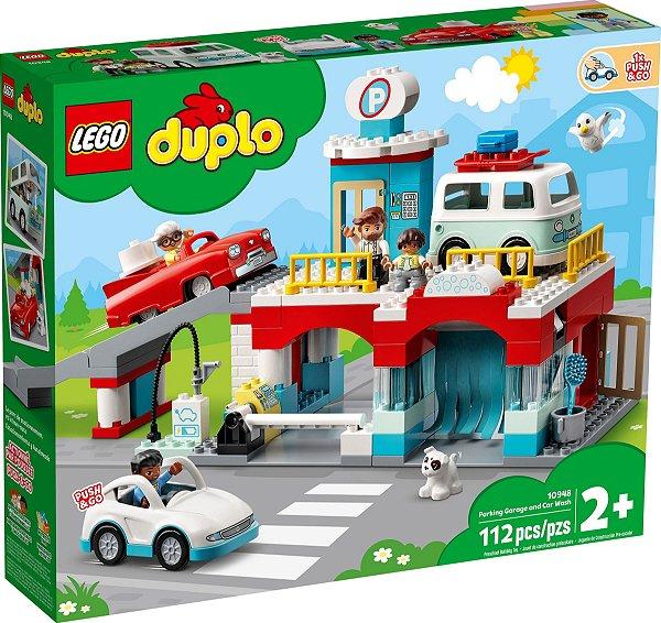 LEGO DUPLO 10948 ESTACIONAMENTO E LAVA RÁPIDO