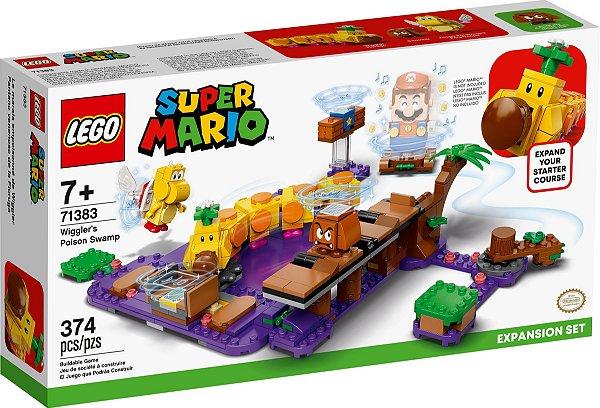 LEGO SUPER MARIO 71383 O PÂNTANO VENENOSO DE WIGGLER - EXPANSÃO