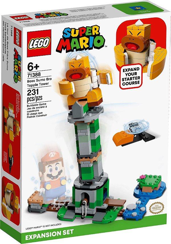 LEGO SUPER MARIO 71388 TORRE BAMBA DO CHEFE IRMÃO SUMÔ - EXPANSÃO
