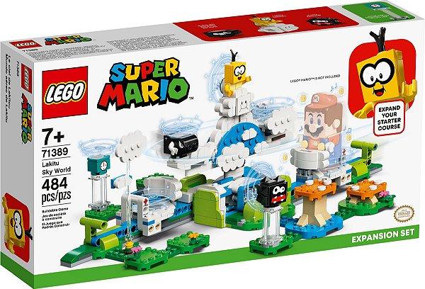 LEGO SUPER MARIO 71389 O MUNDO AÉREO DO LAKITU - EXPANSÃO