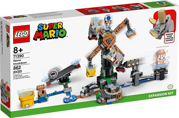 LEGO SUPER MARIO 71390 O DERRUBE DOS REZNORS - EXPANSÃO