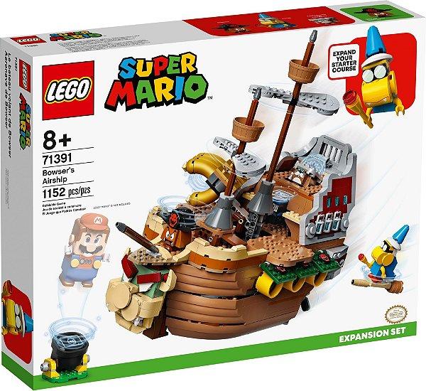 LEGO SUPER MARIO 71391 AERONAVE DO BOWSER - EXPANSÃO