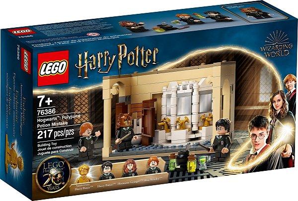 LEGO HARRY POTTER 76386 HOGWARTS: ERRO DE POÇÃO POLISSUCO