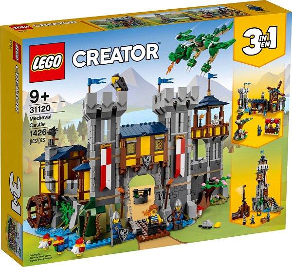 LEGO CREATOR 31120 CASTELO MEDIEVAL