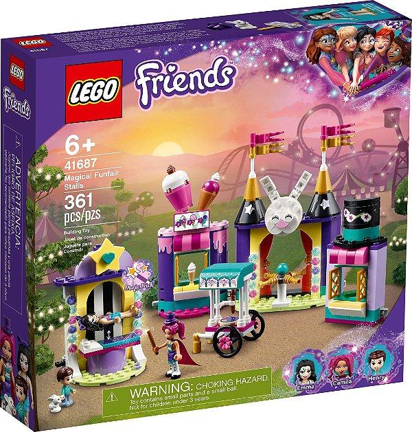 LEGO FRIENDS 41687 BARRACAS DA FEIRA DE DIVERSÕES MÁGICAS