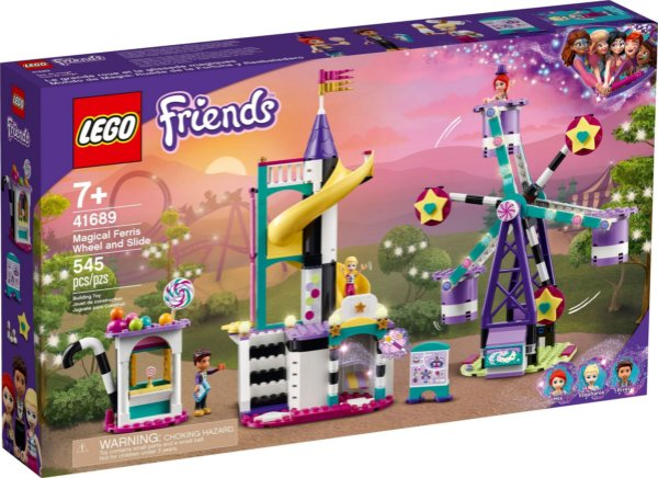 LEGO FRIENDS 41689 RODA-GIGANTE E ESCORREGADOR