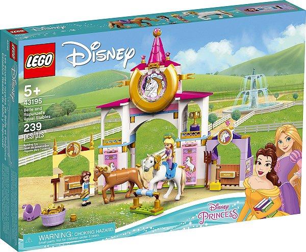 LEGO DISNEY 43195 ESTÁBULOS REAIS DE BELA E RAPUNZEL