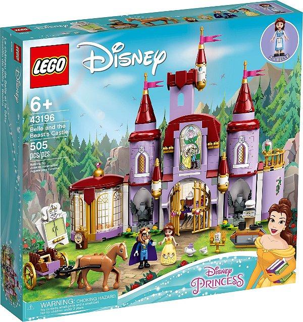 LEGO DISNEY 43196 A BELA E O CASTELO DA FERA