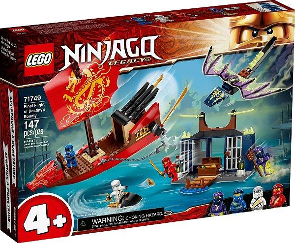 LEGO NINJAGO 71749 VOO FINAL DO BARCO DO DESTINO