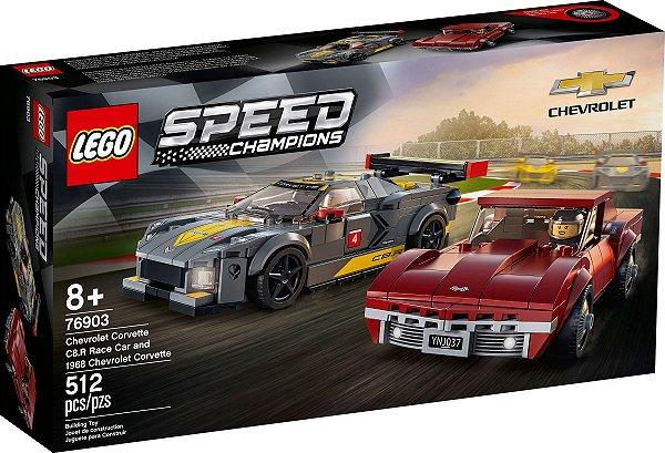 LEGO SPEED CHAMPIONS 76903 CHEVROLET CORVETTE: C8.R E 1968