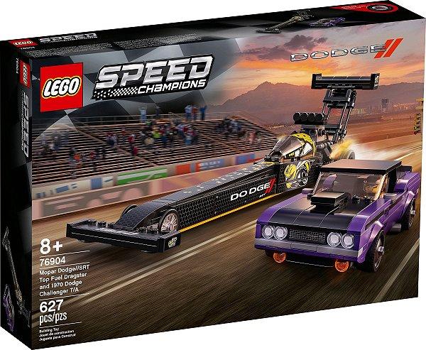 LEGO SPEED CHAMPIONS 76904 DODGE: MOPAR SRT DRAGSTER E CHALLENGER 1970