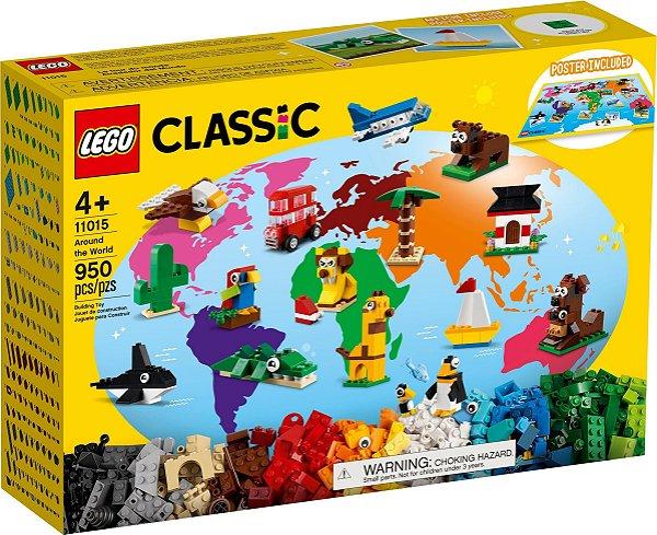 LEGO CLASSIC 11015 AO REDOR DO MUNDO