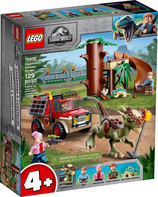 LEGO JURASSIC WORLD 76939 FUGA DO DINOSSAURO STYGIMOLOCH