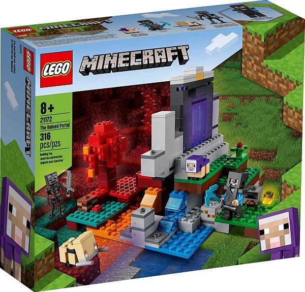 LEGO MINECRAFT 21172 O PORTAL EM RUÍNAS