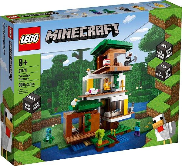 LEGO MINECRAFT 21174 A CASA DA ÁRVORE MODERNA