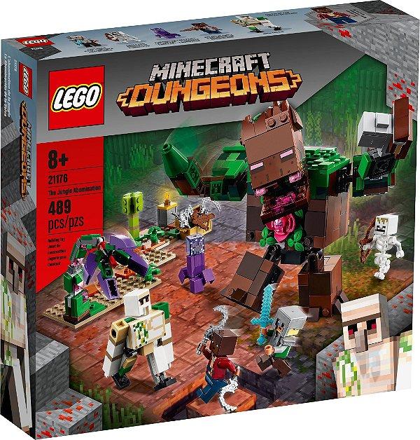 LEGO MINECRAFT 21176 O HORROR DA SELVA
