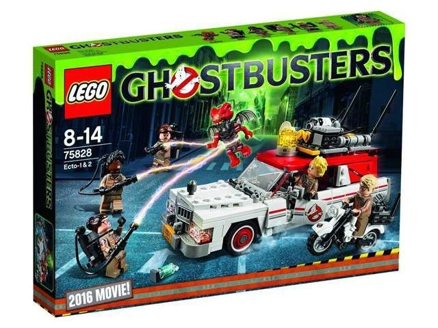 LEGO GHOSTBUSTERS 75828 ECTO-1 & 2