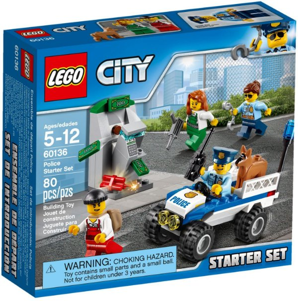 LEGO CITY 60136 POLICE STARTER SET