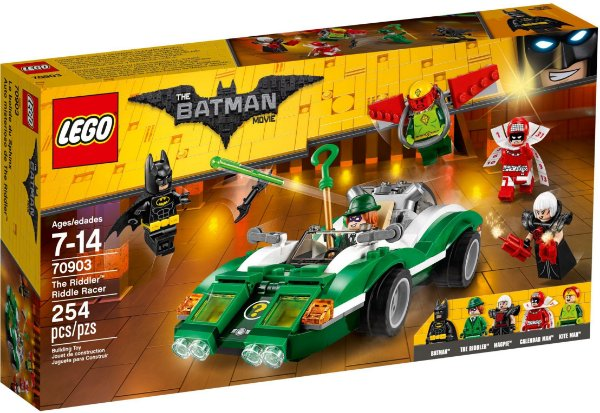 LEGO BATMAN MOVIE 70903 THE RIDDLER: RIDDLER RACE