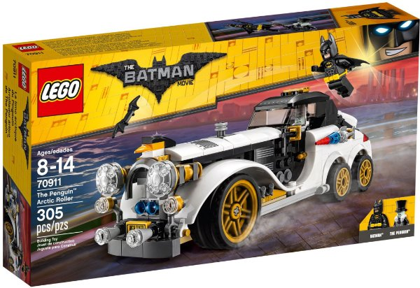 LEGO BATMAN MOVIE 70911 THE PENGUIN ARCTIC ROLLER