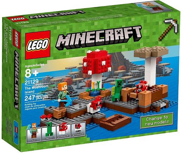LEGO MINECRAFT 21129 A ILHA DOS COGUMELOS