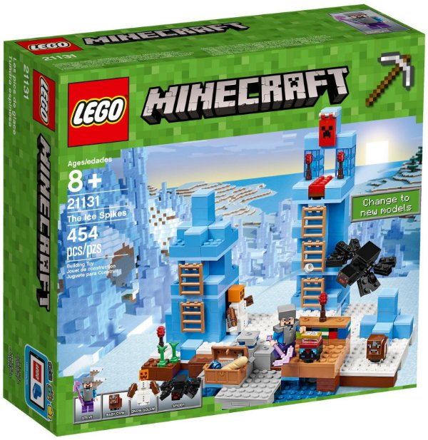 LEGO Minecraft 21131 - The Bricks Imports, sua loja especializada em ... 849729624e
