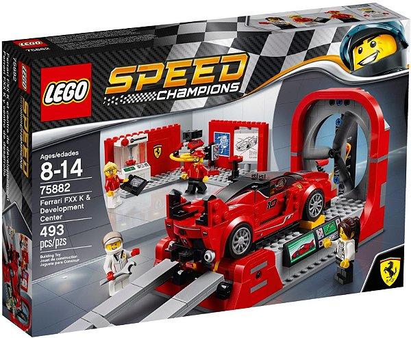 LEGO SPEED CHAMPIONS 75882 FERRARI FXX K & DEVELOPMENT CENTER