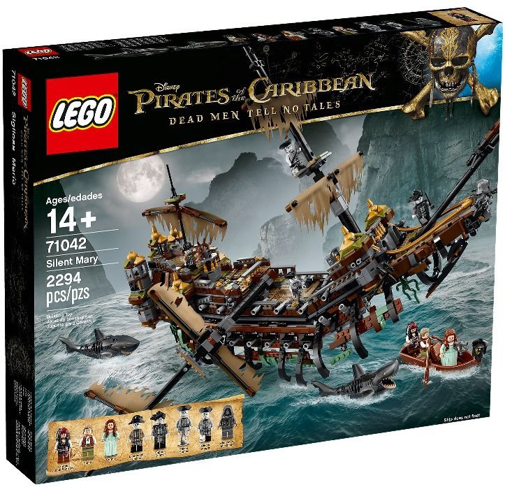LEGO PIRATAS DO CARIBE 71042 SILENT MARY
