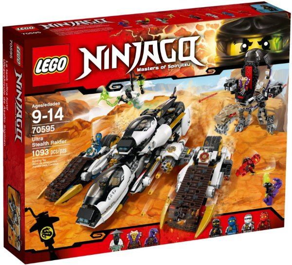 LEGO NINJAGO 70595 ULTRA SEALTH RAIDER