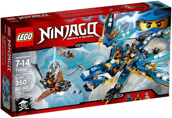 LEGO NINJAGO 70602 JAY'S ELEMENTAL DRAGON