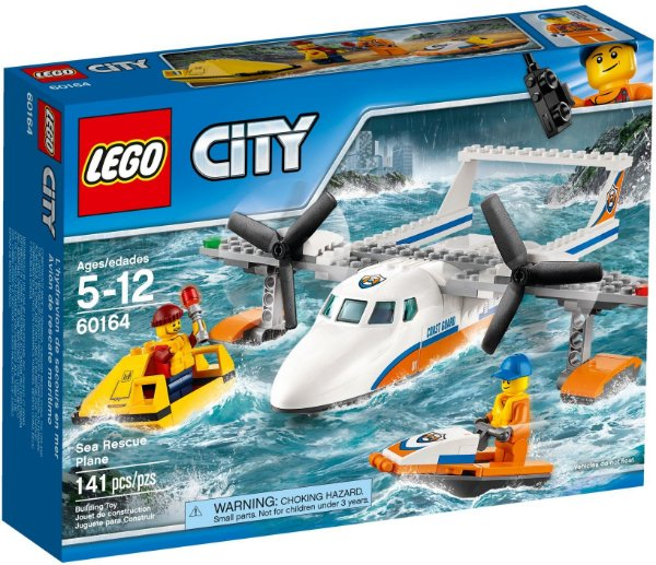 LEGO CITY 60164 SEA RESCUE PLANE
