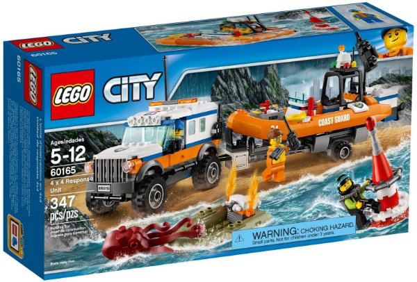 LEGO CITY 60165 4x4 RESPONSE UNIT