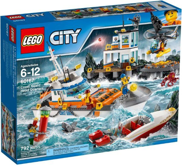 LEGO CITY 60167 COAST GUARD HEADQUARTERS