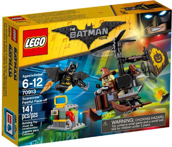 LEGO BATMAN MOVIE 70913 SCARECROW FEARFUL FACE-OFF