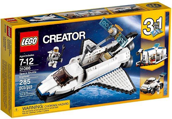 LEGO CREATOR 31066 SPACE SHUTTLE EXPLORER