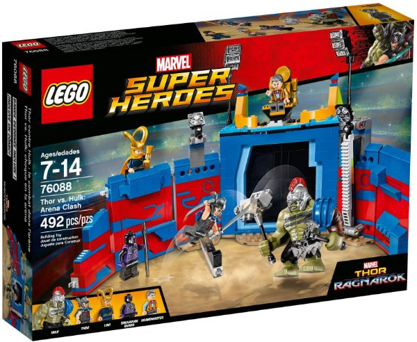 LEGO SUPER HEROES 76088 THOR VS HULK ARENA CLASH