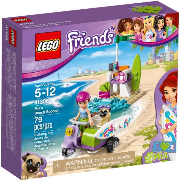 LEGO FRIENDS 41306 MIA'S BEACH SCOOTER