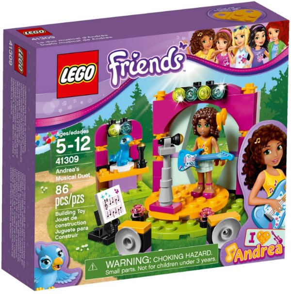 LEGO FRIENDS 41309 ANDREA'S MUSICAL DUET