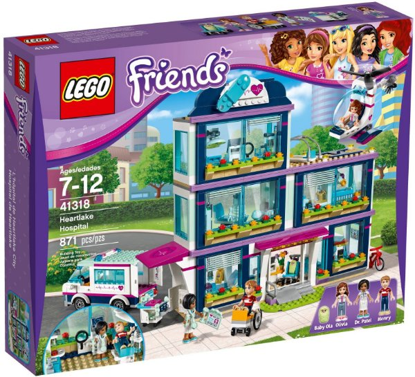 LEGO FRIENDS 41318 HEARTLAKE HOSPITAL