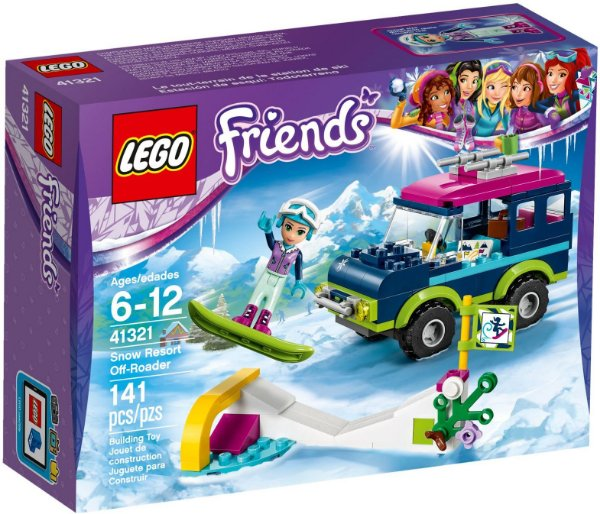 LEGO FRIENDS 41321 SNOW RESORT OFF- ROADER