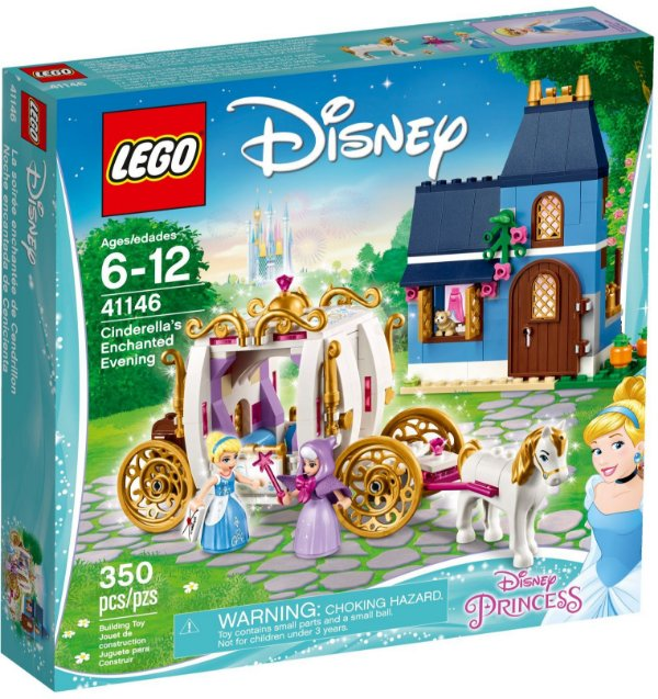 LEGO DISNEY 41146 CINDERELLA'S ENCHANTED EVENING