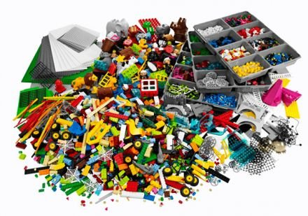 LEGO SERIOUS PLAY 2000415 IDENTITY AND LANDSCAPE KIT