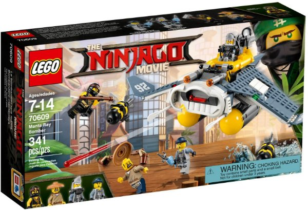 LEGO NINJAGO THE MOVIE 70609 MANTA RAY BOMBER