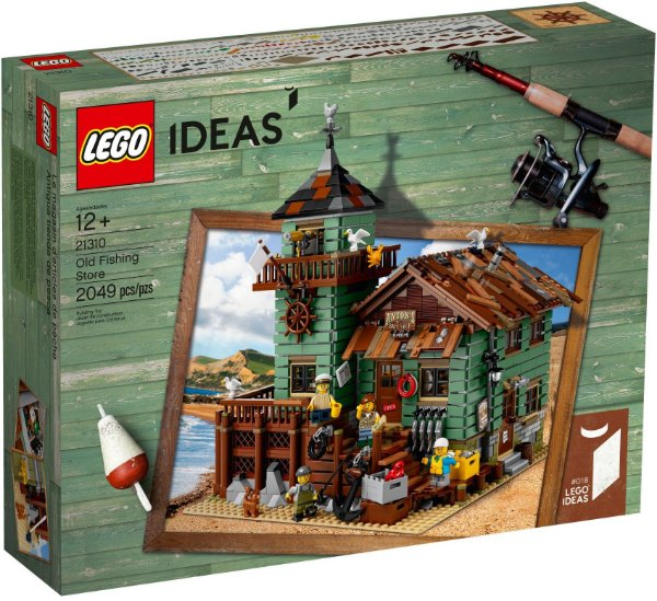 LEGO IDEAS 21310 OLD FISHING STRORE