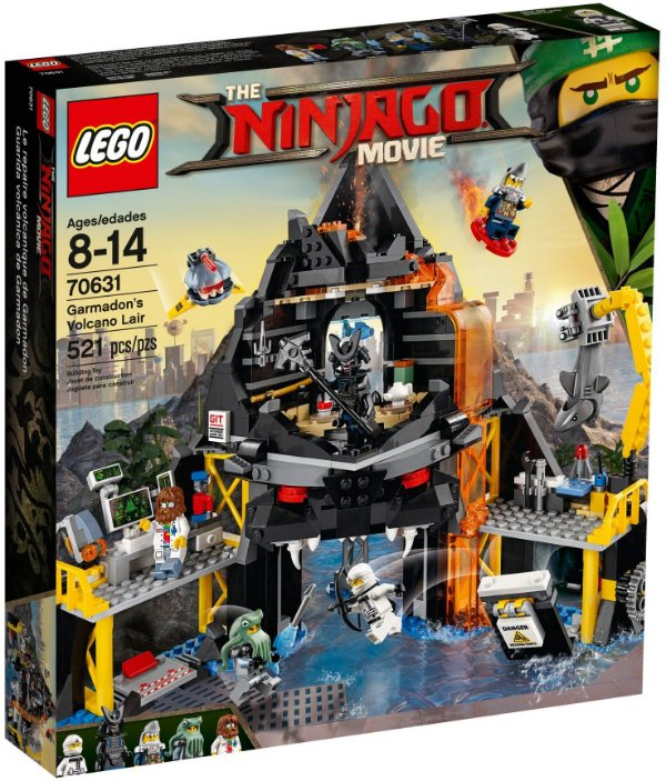 LEGO NINJAGO THE MOVIE 70631 GARMADON'S VOLCANO LAIR