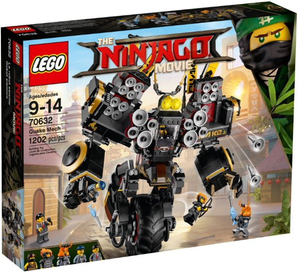 LEGO NINJAGO THE MOVIE 70632 QUAKE MECH