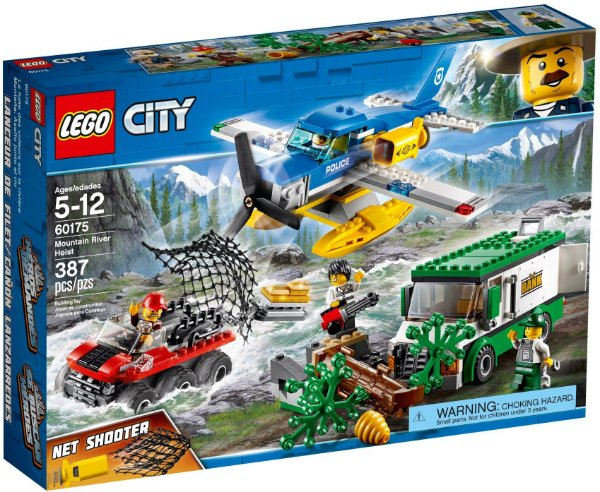 LEGO CITY 60175 MOUNTAIN RIVER HEIST