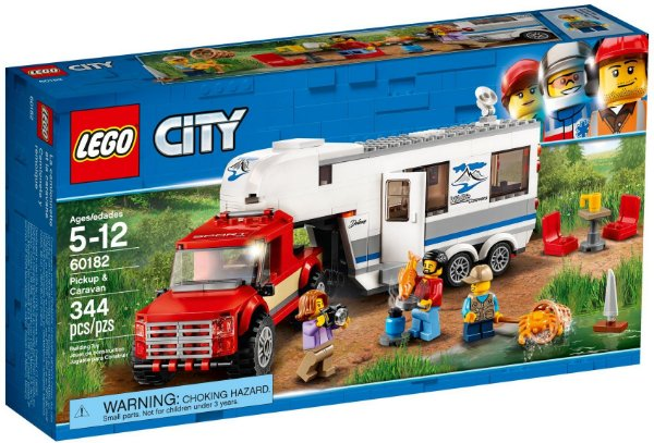LEGO CITY 60182 PICKUP & CARAVAN